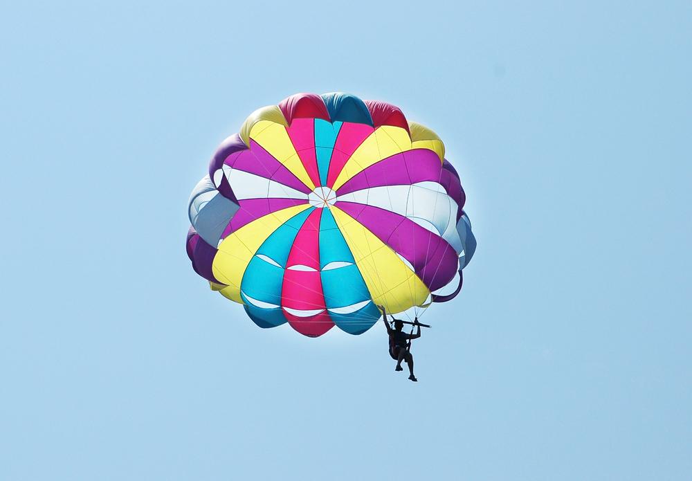 Die Erfindung des Fallschirms